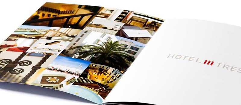 Sales brochure design for hotel property – Sales Brochure
